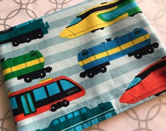 Trains Reusable Snack Bag