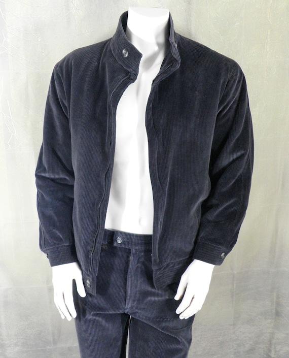 Vintage Jaeger Corduroy Casual Sport Suit Size M / L DX27tG