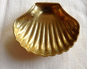 Brass Baptismal Shell or Christening Shell