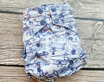 Vintage Aeroplanes Ai2 Cloth Diaper