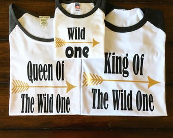 Queen Of The Wild One, King Of The Wild One, & Wild One