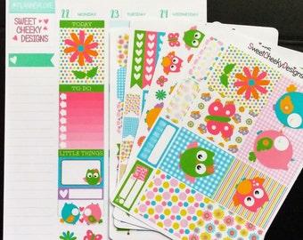 Spring Owls Planner Kit!  Available for Erin Condren Life Planner or MAMBI/Happy Planner