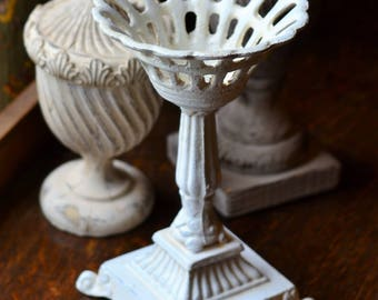 CRYSTAL BALL STAND, Cast Iron, Large Sphere Stand
