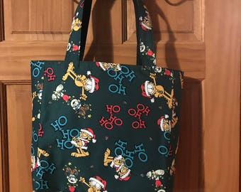 Garfield reversible tote bag