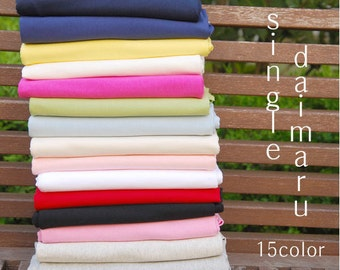 Cotton Jersey Knit - Choose From 15 Solid Colors - By the Yard 29283