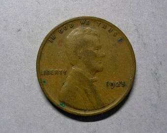 1925 P Lincoln Wheat Cent #2340 Very Good  to Fine Condition Harder to Find