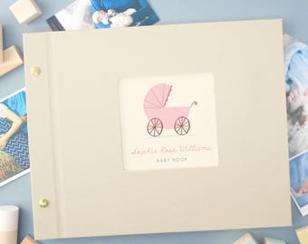 Personalised Baby Photo Album (4 designs available)