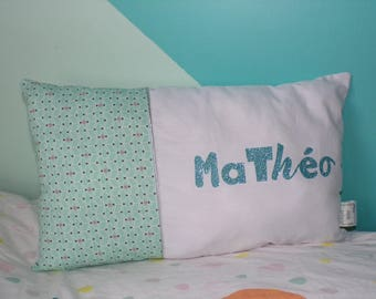 Personalized pillow to your child's name