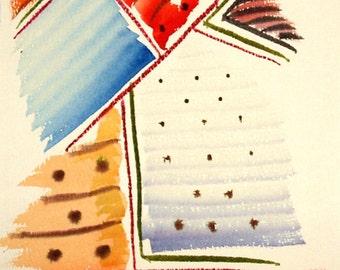 LIVRAISON gratuite aquarelle rêves numéro 25