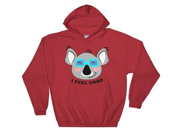 I feel good - Hooded Sweatshirt