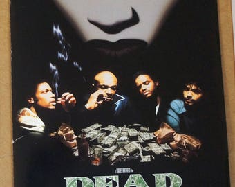 "Dead presidents   Movie Press Kit     ""Dead Presidents""       Original 1995 Press Kit - 5 great 8 x 10 photographs"