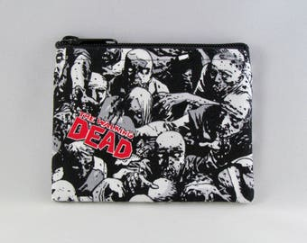 The Walking Dead Coin Purse - Coin Bag - Pouch - Accessory - Gift Card Holder