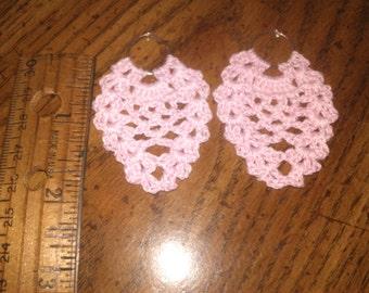 pink pineapple earrings