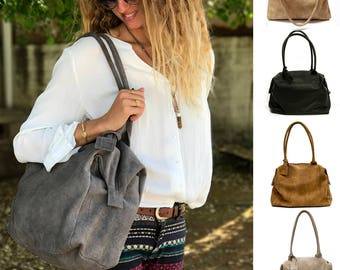 Sale!! Leather bag Leather zipper bag Medium Leather Handbag leather purse handmade handbag leather zipper tote leather Medium bag Gaya bags