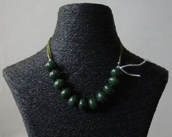 """Necklace: Collection """"Fine stones and trimmings"""" by jade"""