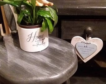 Pine Bar stool/beautiful shop window display piece?