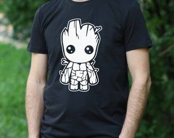 BABY GROOT Tshirt I am Groot Shirt Guardians of The Galaxy T-Shirt Baby Groot mens shirt I am Groot tshirt Guardians of The Galaxy t shirt