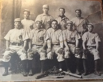 1907 IL State High School Baseball Champions!