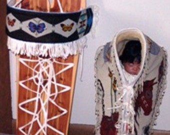 Othentic Beaded Cradle Blanket and Board (Free International Shipping)
