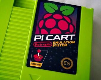 Retropie Pi Cart Label NES Sticker - v1