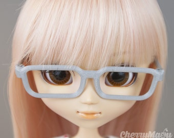 "Glasses for pullip ""square"""