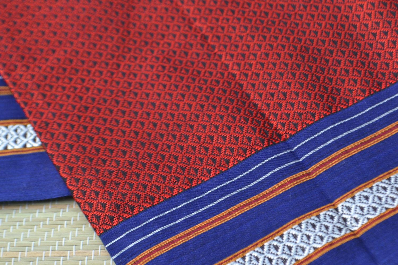 zoom 1 yard of rare handloom fabric