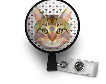 Cat Love ID Badge Reel