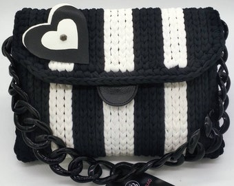 Black & White Shoulder bag 29x22x6 cm