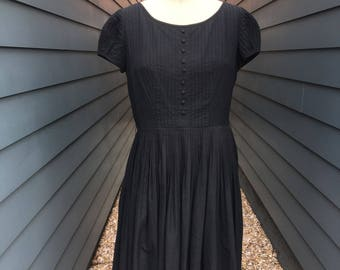 1960s Little Black Dress // Lloyd Weill New York Dress // 1960s Vintage Dress // Vintage Black Dress
