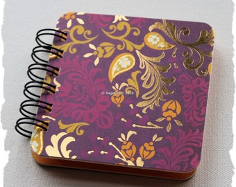 Purple / Yellow / Gold - Post It Note Holder Planner