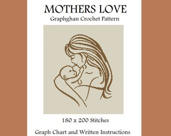 Mothers Love - Graphghan Crochet Pattern
