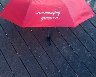 LOCAL PICK UP-Amazing Grace/Swim Across America Umbrellas
