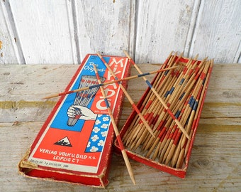 Mikado Spiel Kinderspiel 60er