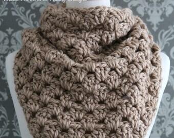 Crochet PATTERN - Triangle Scarf Crochet Pattern - Crochet Cowl Pattern - Crochet Triangle Scarf Pattern - Shawl Crochet Pattern - PDF 426