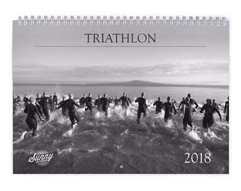 Triathlon 2018 Wall Calendar