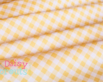 Sew 2 Gingham Yellow - Riley Blake Designs - 1/2 Yard