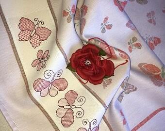 Dish Towel Dishtowel Butterflies
