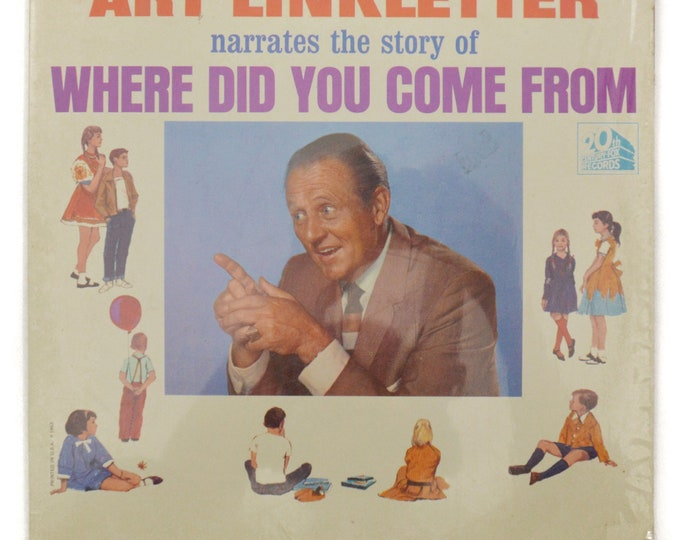Vintage 60s Art Linketter Where Did You Come From Mono Sex Education Record Vinyl