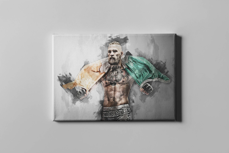 Conor McGregor Plakat Conor McGregor Leinwand Druck Druck Mma