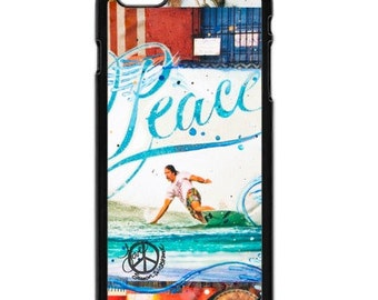 iPhone 6s/6, iPhone 6s/6 Plus Case, PEACE DONAVON FRANKENREITER, iPhone 6s, iPhone 6s Plus, Surf, Best Seller, Avail. w Black or White Sides