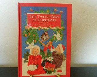 The Twelve Days Of Christmas Pop-Up Book - A Christmas Treasury Pop-Up - 1991