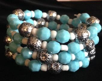 Boho Bracelet/ Summer Bracelet/ Turquoise Bracelet