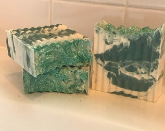 Green Dream|Handmade Soap|Shea Butter Soap|Vegan Soap