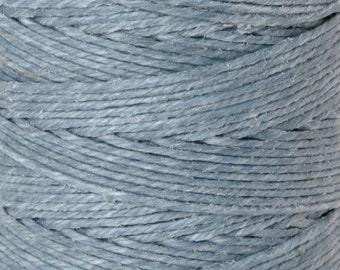 Tools & Supplies-4-Ply Irish Linen Cord-Waxed-Denim-Quantity 10 Yards