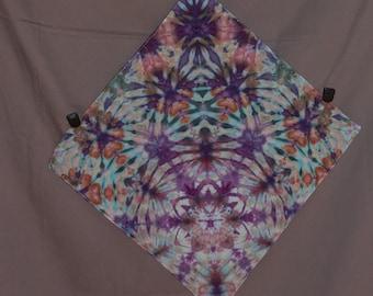 Handmade Ice Dye Bandana 2