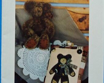 Benjamin Bear Stuffed Bear and Pillow