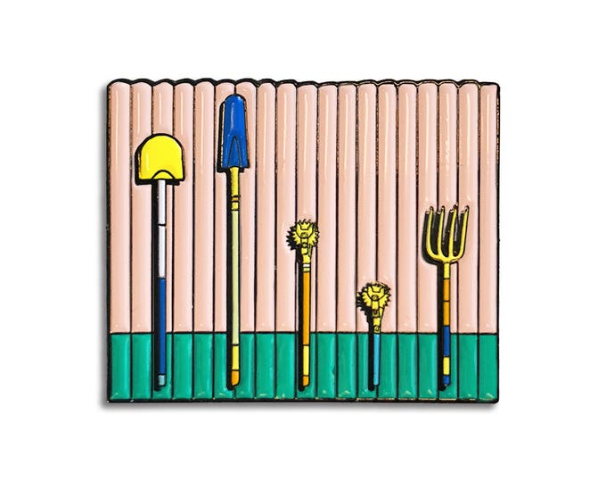 American Cartoon Pin