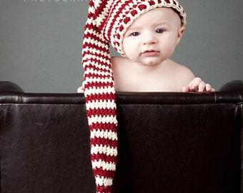 Christmas Elf Stocking Beanie (Toddler)
