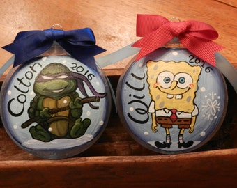 Personalized Ornaments/Character Design/Size Medium Disc