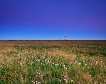 Westerhever Lighthouse after Sunset - Fine Art Landscape Photography Print